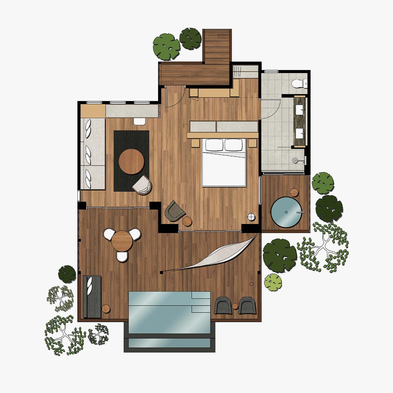 Billabong Suite Floorplan