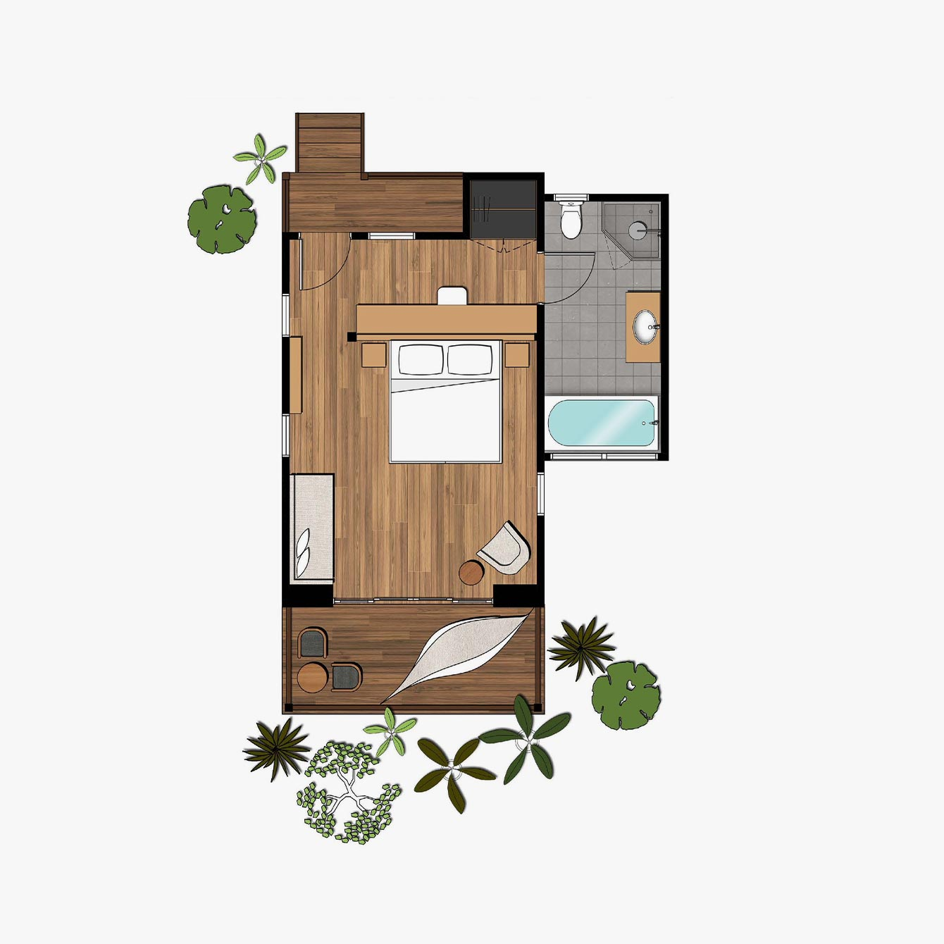 Garden Retreat Floorplan