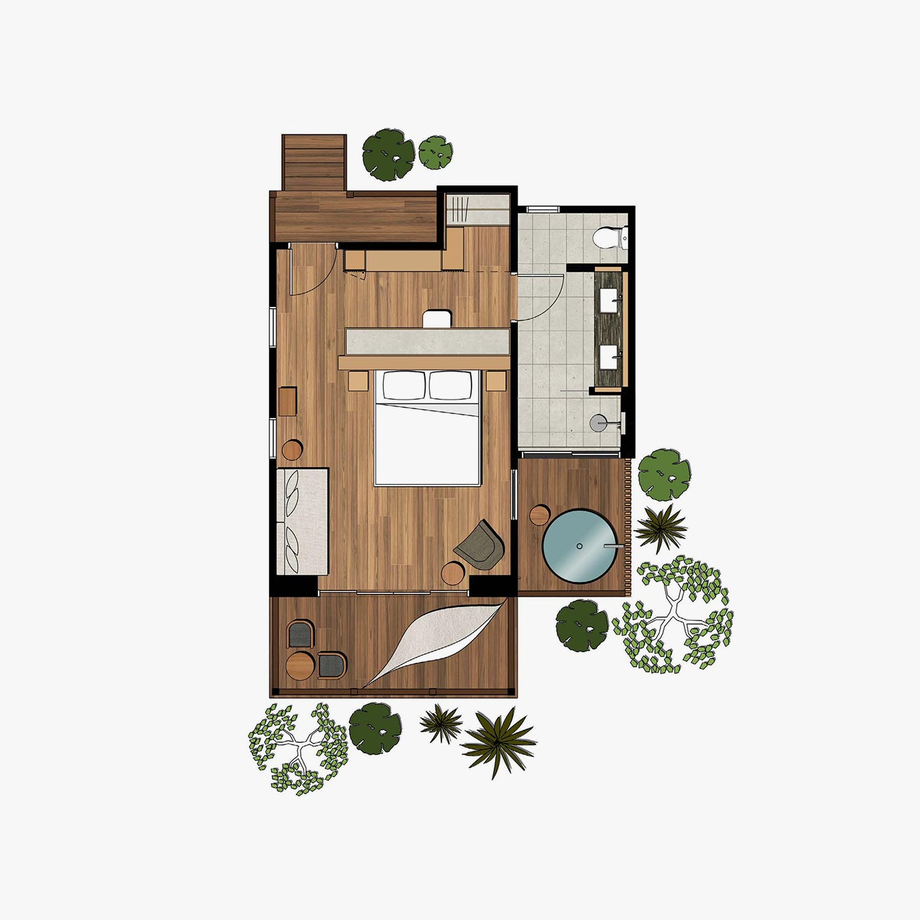 Riverhouse Floorplan