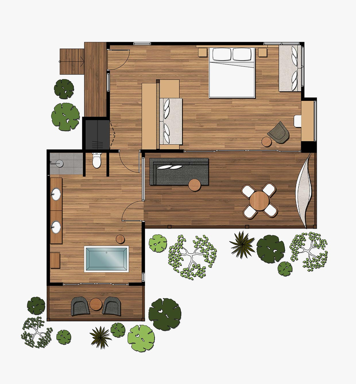 Treehouse Premium Floorplan
