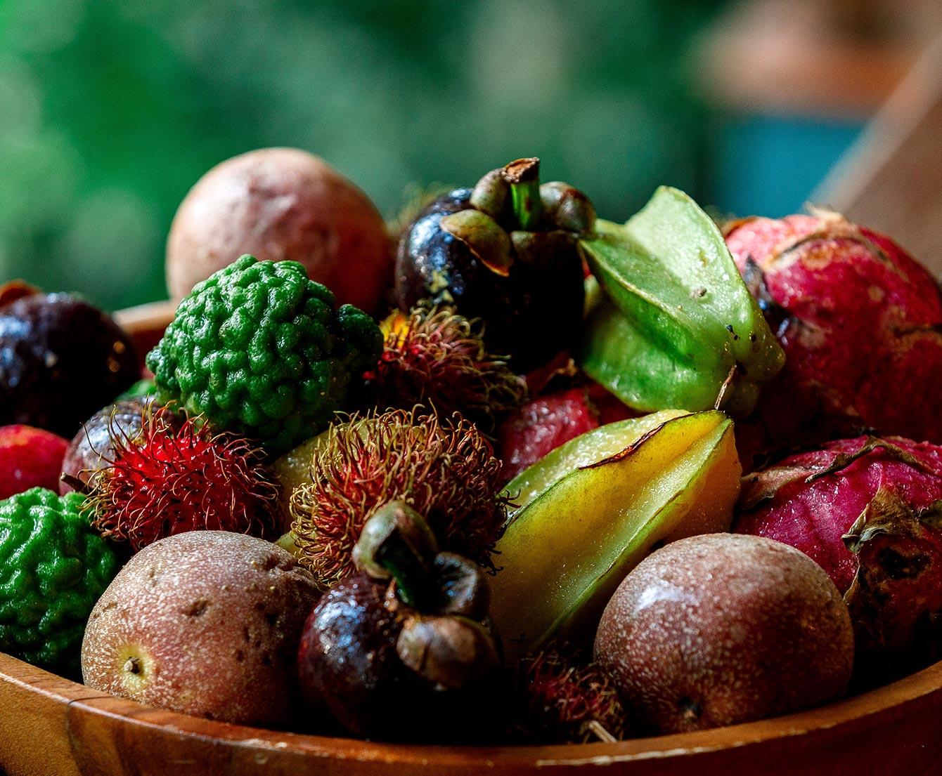 Tropical food bowl
