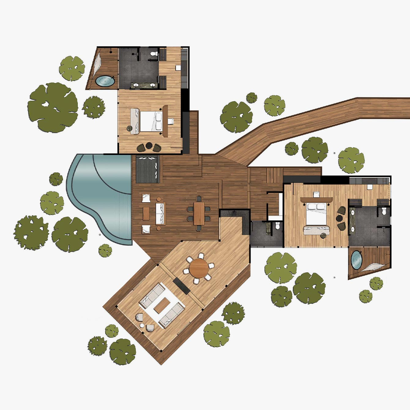 Daintree Pavilion Floorplan